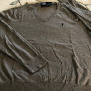 POLO Ralph Lauren L cotton, silk &cashmere sweater